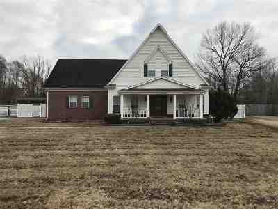 Atoka Single Family Home For Sale: 849 Walker