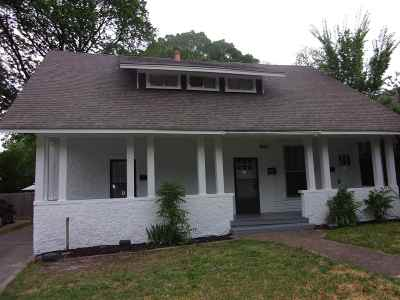 Cooper Young Single Family Home For Sale: 2000 Walker