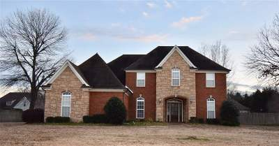 Olive Branch Single Family Home For Sale: 14293 Miller Station