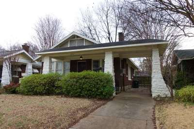 Cooper Young Single Family Home Contingent: 2251 Evelyn