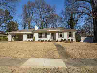 Memphis Single Family Home Contingent: 4306 Chickasaw