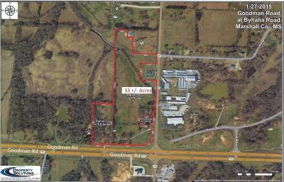 Byhalia Residential Lots & Land For Sale: 4464 Highway 302