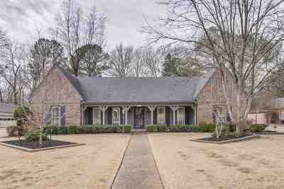 Memphis Single Family Home Contingent: 2159 Hickory Crest