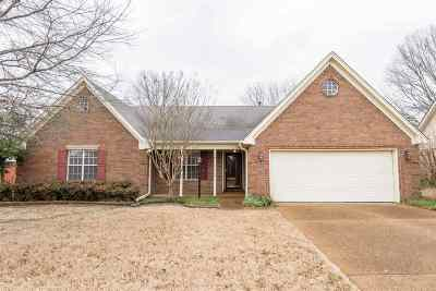 Collierville Single Family Home Contingent: 1424 Wolf Ridge