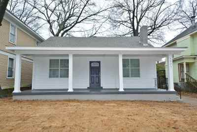 Single Family Home For Sale: 1521 Court