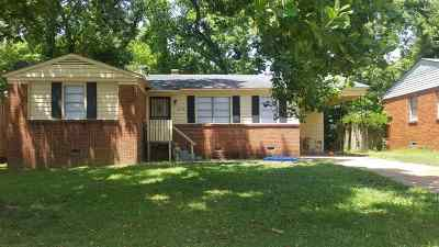 Memphis Single Family Home For Sale: 3673 Suzanne