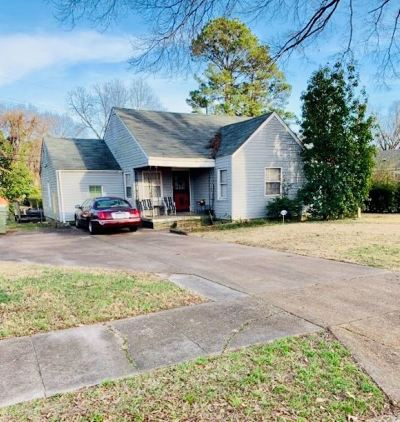 Memphis Single Family Home For Sale: 1486 Galveston