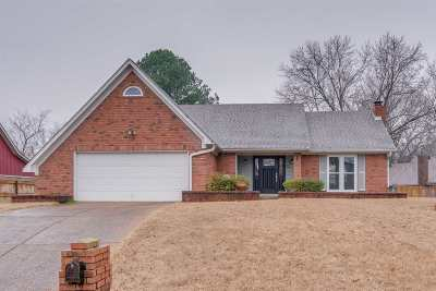 Memphis Single Family Home Contingent: 1091 Fox Trace