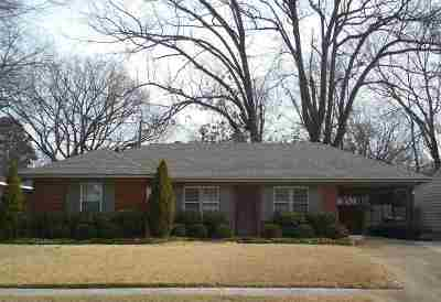 Memphis Single Family Home Contingent: 440 N Fernway