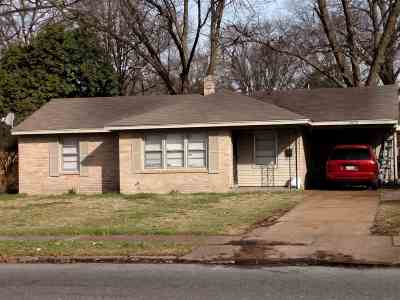 Memphis Single Family Home For Sale: 4672 Willow