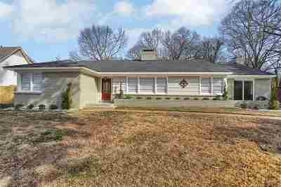 Memphis Single Family Home For Sale: 4200 Oaksedge