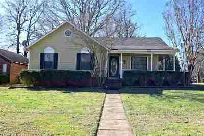 Memphis TN Single Family Home For Sale: $137,000
