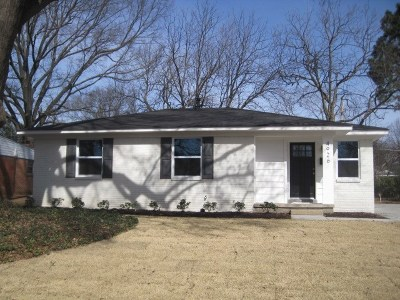 Memphis TN Single Family Home For Sale: $169,999