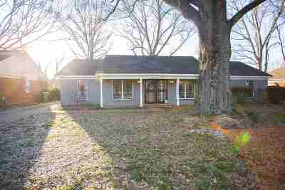 Memphis TN Single Family Home For Sale: $139,900