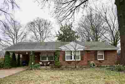 Memphis TN Single Family Home For Sale: $220,000