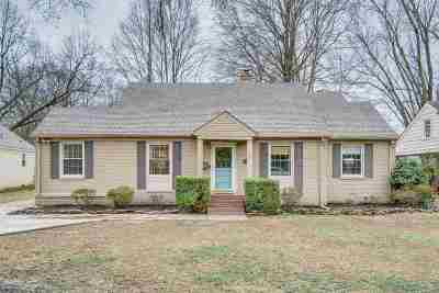 Memphis TN Single Family Home For Sale: $289,000