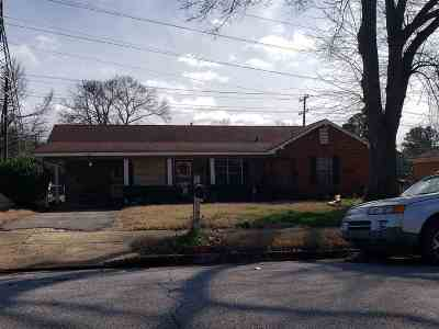 Memphis Single Family Home For Sale: 2465 Clearpark