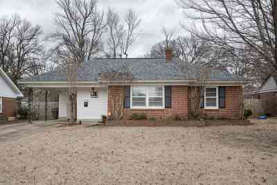 Memphis Single Family Home Contingent: 5048 Parkside