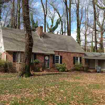 Memphis Single Family Home For Sale: 4293 Auburn