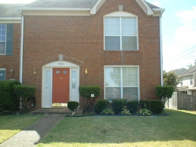 Memphis Condo/Townhouse For Sale: 6531 Hart