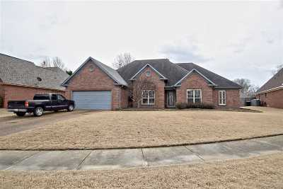 Bartlett Single Family Home For Sale: 6639 Booth Forrest