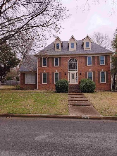 Memphis Single Family Home For Sale: 7580 October Rose