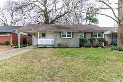 Memphis Single Family Home For Sale: 278 N Yates