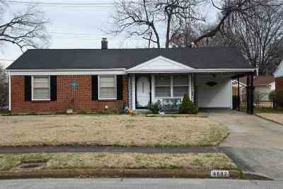 Memphis Single Family Home For Sale: 4682 Violet