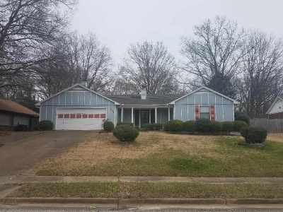 Memphis Single Family Home For Sale: 2156 Rock Ridge