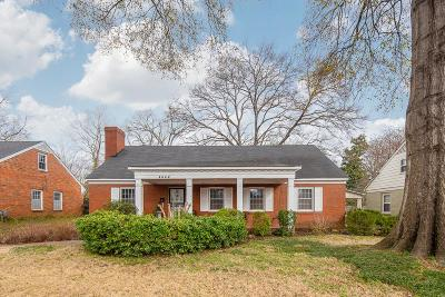 Memphis Single Family Home For Sale: 4444 Cherrydale