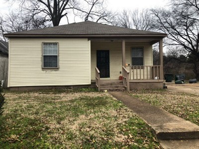 Memphis Single Family Home For Sale: 26 E Dempster