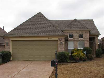 Memphis Single Family Home For Sale: 2782 Misty Valley