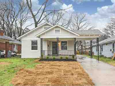 Single Family Home For Sale: 1455 Snowden