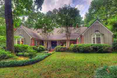 Memphis Single Family Home For Sale: 6050 River Oaks