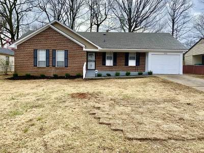 Memphis Single Family Home For Sale: 3700 New Tchulahoma
