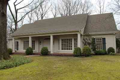 Memphis Single Family Home For Sale: 6396 River Tide
