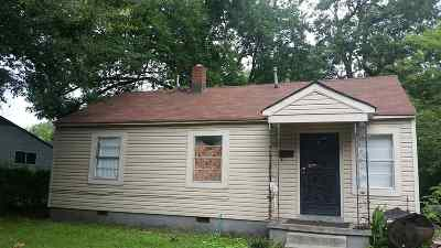 Memphis Single Family Home For Sale: 2834 Sage