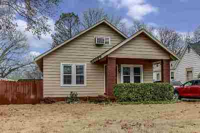 Memphis Single Family Home For Sale: 3242 Chisca
