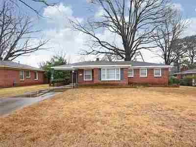 Memphis Single Family Home For Sale: 1420 S White Station