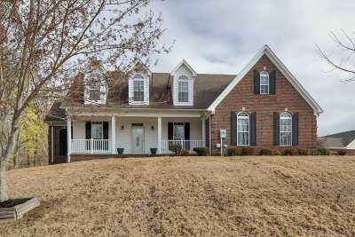 Atoka Single Family Home For Sale: 114 Walker Lake