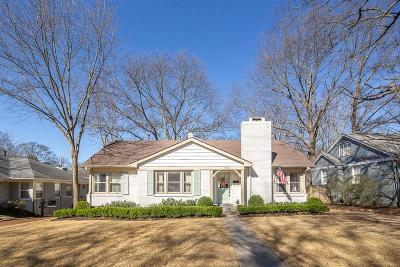 Memphis Single Family Home Contingent: 3730 N Woodland