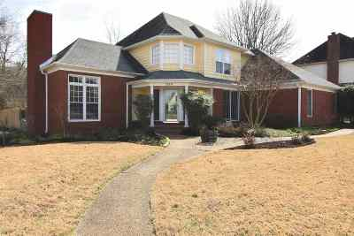 Collierville Single Family Home Contingent: 1184 Winrose