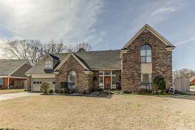 Bartlett Single Family Home Contingent: 6081 Surrey Hollow