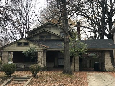 Single Family Home For Sale: 1228 Central