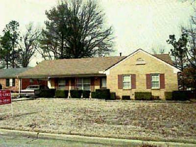 Memphis Single Family Home For Sale: 4172 Riche