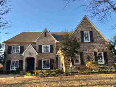 Collierville Single Family Home For Sale: 1238 Braystone