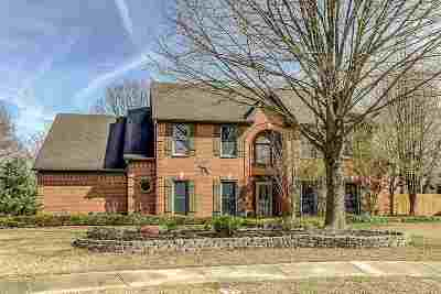 Collierville Single Family Home Contingent: 1496 Claverton