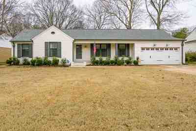 Memphis Single Family Home Contingent: 5271 Mason
