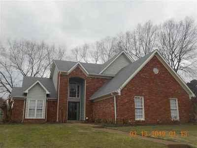 Memphis Single Family Home For Sale: 8747 Walnut Grove
