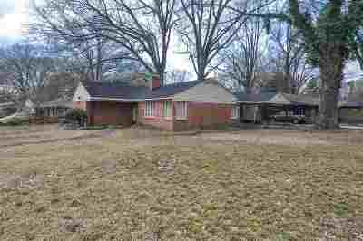 Memphis Single Family Home For Sale: 1237 Wedgewood